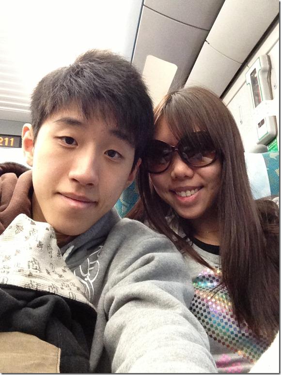 Taipei HSR to Taichung HSR
