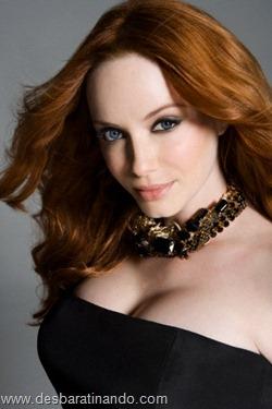 Christina Hendricks linda sensual sexy sedutora decote peito desbaratinando (5)