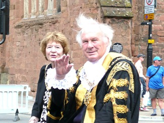 Lady Godiva festival - 2010, мэр города Ковентри
