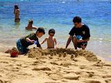 Sandcastles at Hanauma Bay