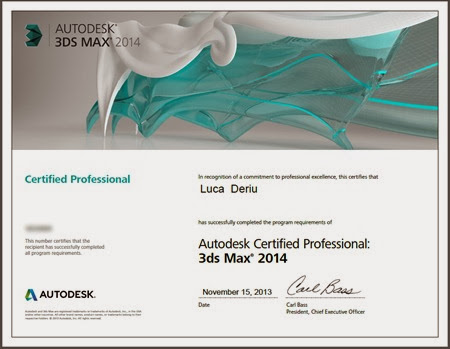 Luca Deriu - Autodesk Certified Professional/Instructor