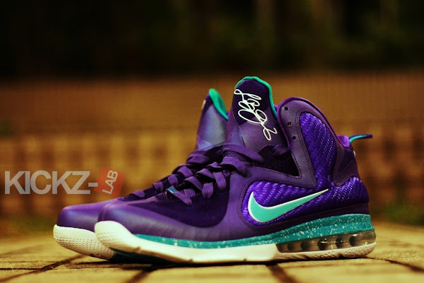 Another Look at Upcoming Nike LeBron 9 8220Summit Lake Hornets8221