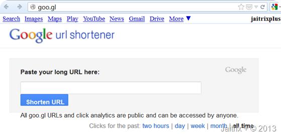 how to shorten long url links