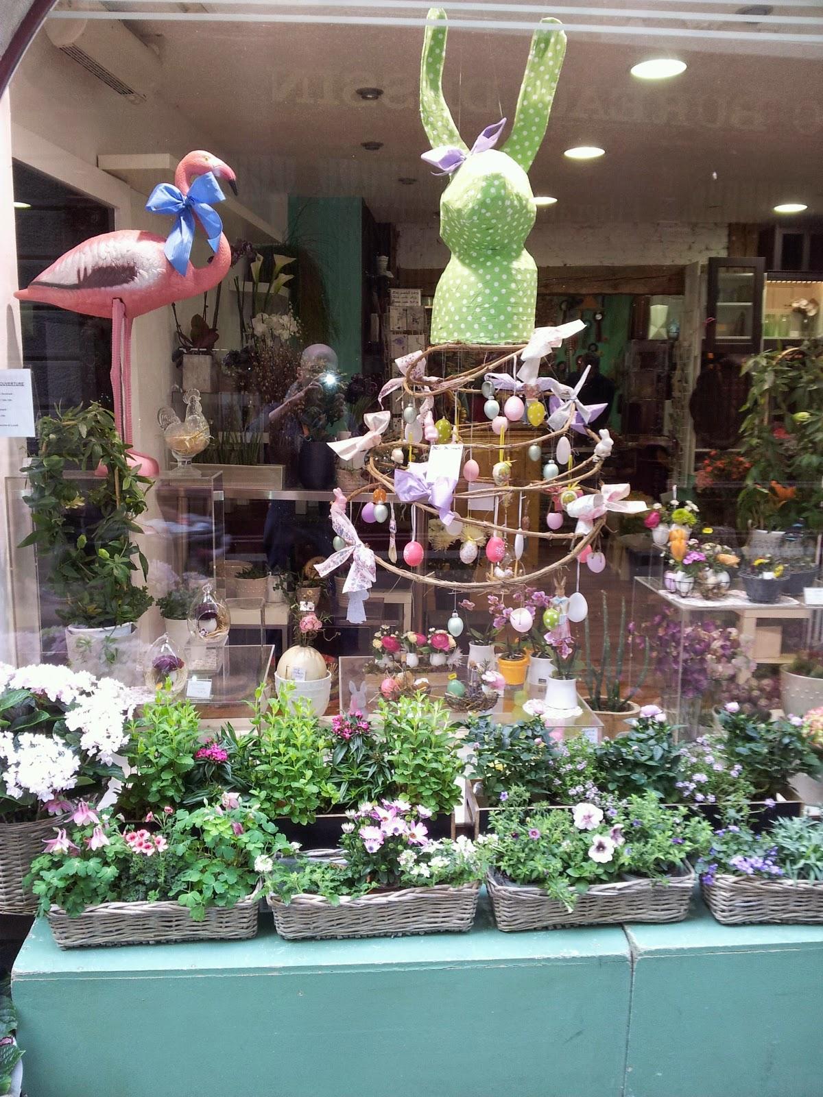 Home jasmin vitrine de p ques 2014 - Decoration paques vitrine ...