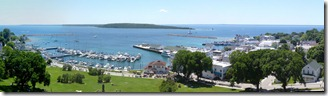 Mackinac Is Harbor