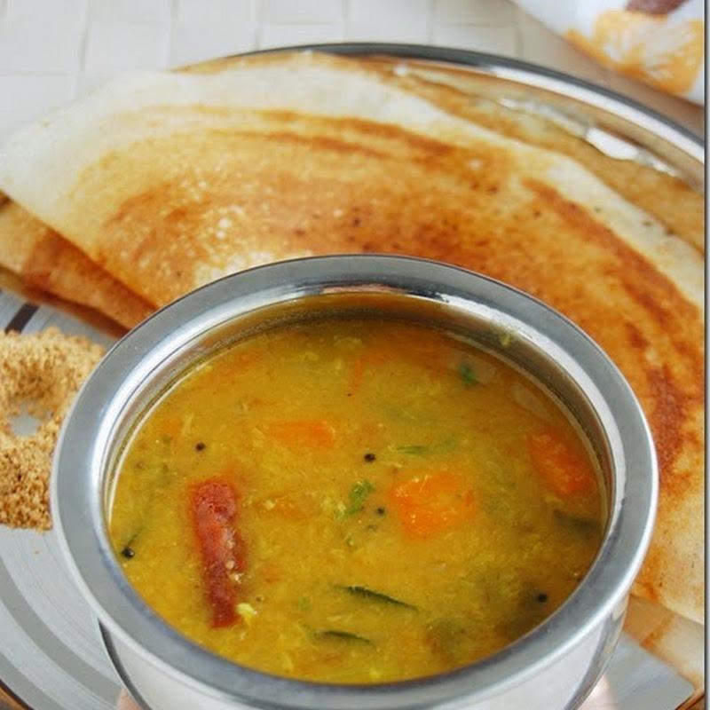 Tiffin sambar / Paasi paruppu sambar