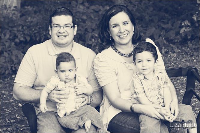Lopez Family 008B&W