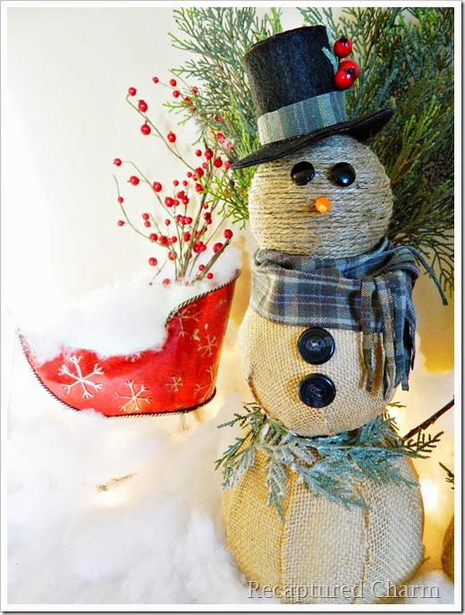 burlap & twine snowmen47
