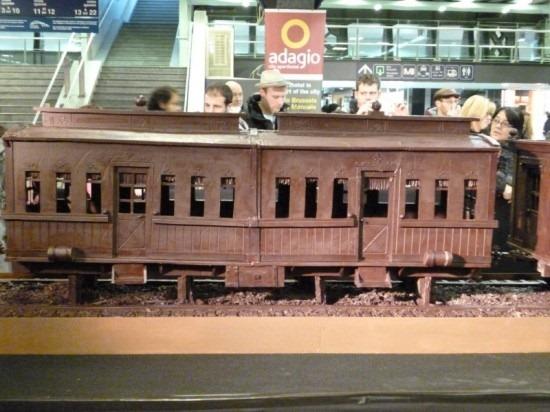 Trem de chocolate Belga 03