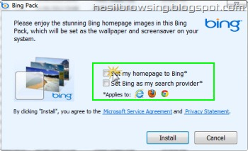 bing wallpaper pack installation