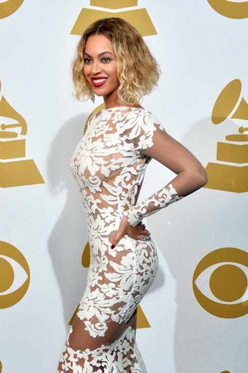 Beyonce At The 56th Annual Grammy Awards