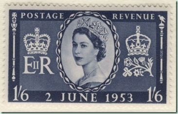 coronation stamp