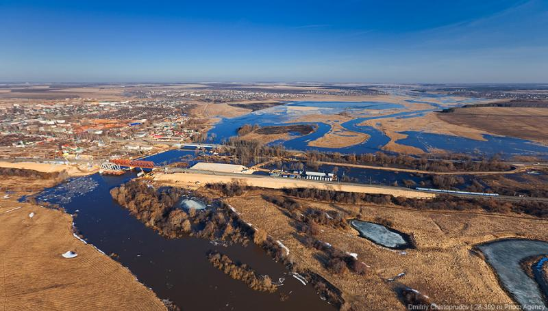 Bird's View of Vladimir's region by Dmitry Chistoprudov