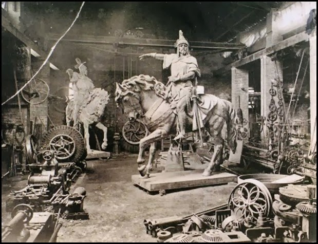 la maquinista valenciana_estatua rey don jaime 1891