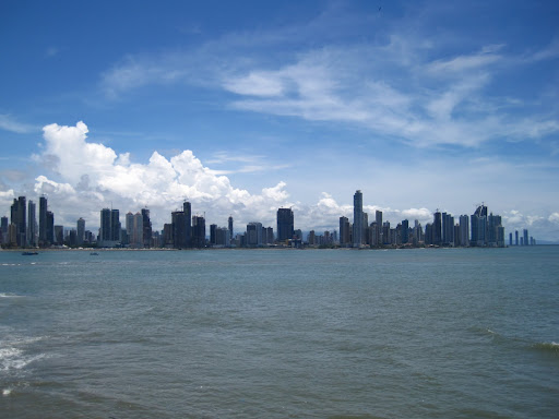 Panama City's modern skyline, sporting some of the tallest skyscrapers in Latin America.