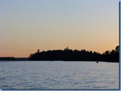 7423 Restoule Provincial Park - sunset over Restoule Lake
