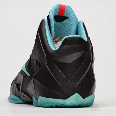 nike lebron 11 gr prohibition 2 01 Release Reminder: Nike LeBron XI Diffused Jade Prohibition