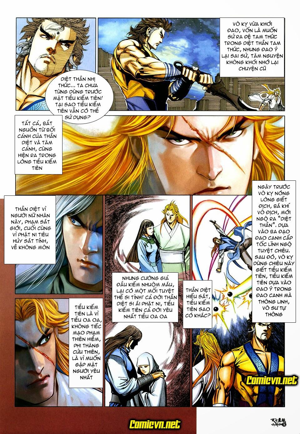 Thiên Hạ Vô Địch Tiểu Kiếm Tiên chap 32 - Trang 8