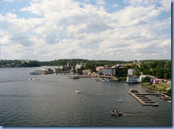 8139 Ontario Kenora Best Western Lakeside Inn on Lake of the Woods - view from our room 7th floor