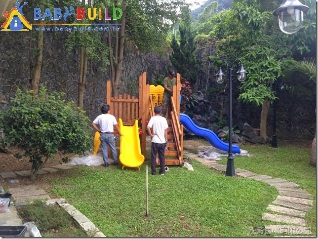木製兒童遊具專業施工組裝