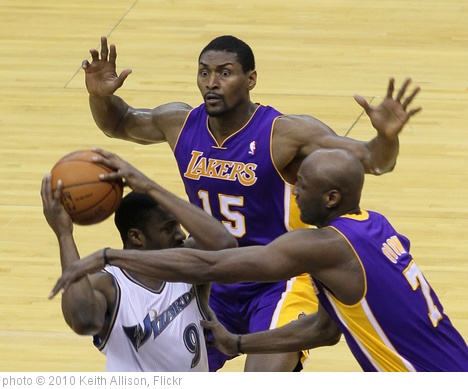 'Ron Artest' photo (c) 2010, Keith Allison - license: http://creativecommons.org/licenses/by-sa/2.0/