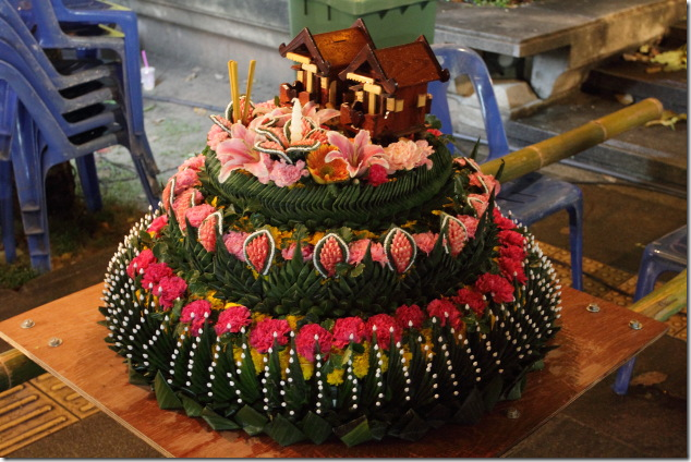 Giant Loi Krathong Offering