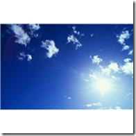 Sun and Cirrus Clouds --- Image by  Royalty-Free/Corbis