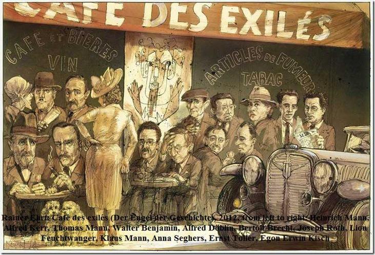 Rainer Ehrt, Café des exilés