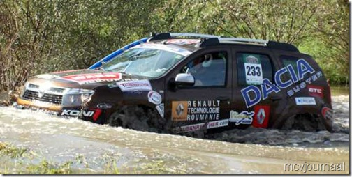 Dacia Duster Balkan Bresau Rally 2012 01