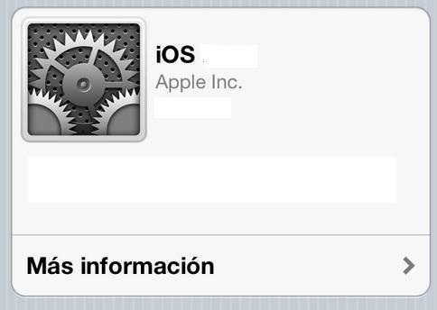 Actualizar iphone ipad a iOS 6