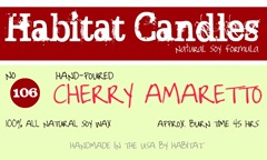 cherry amaretto label