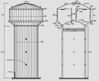 Diseño de reservorio elevado tipo fuste