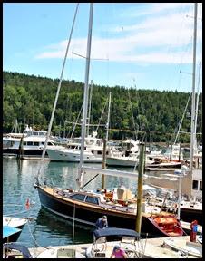 11c - Rt 198 - Northeast Harbor - Far Out Sailboat
