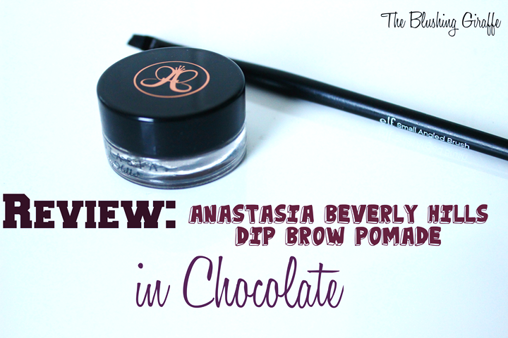 Anastasia Anastasia Beverly Hills Dip Brow Pomade review swatch