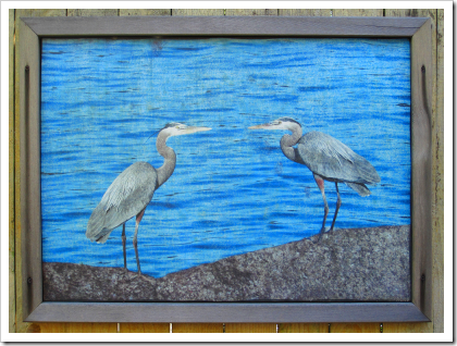 Two heron (click for larger image)