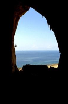 Panorama dalla Grotta del Cavallo