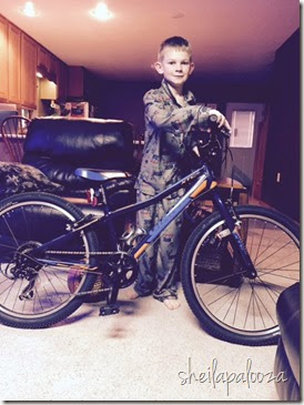 grant with bike