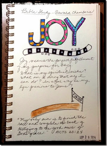 Acts 20-24 Journaling