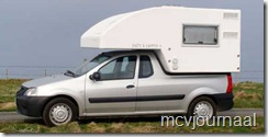 Dacia Logan Pick Up als Camper 02
