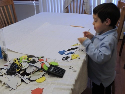 Zachary's 100th Day of Kindergarten