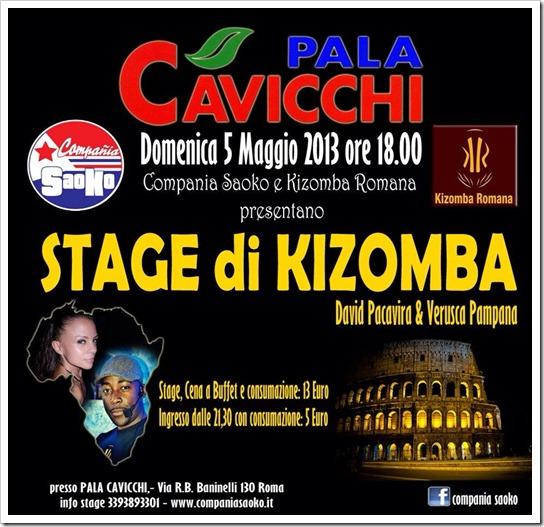 David Pacavira, stage di Kizomba al Palacavicchi