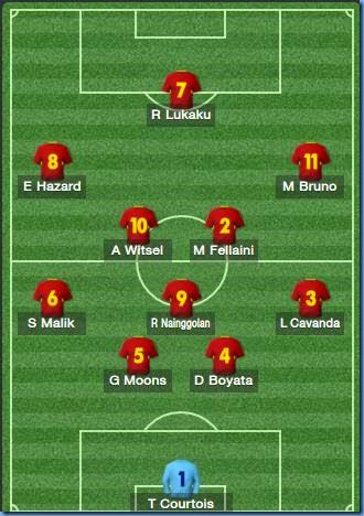 Belgian squad