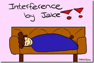 ThatWhiteGirl - sleeping on the couch - interference by jake