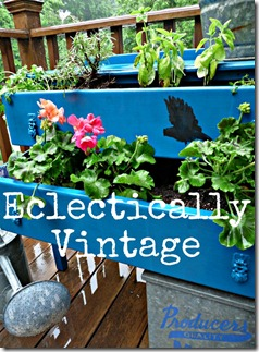Outdoor Kelly's Dresser Planter  (2)