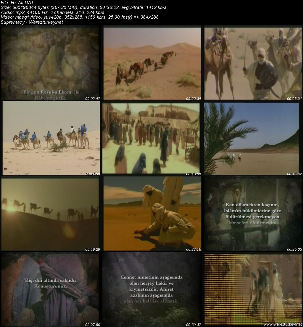 Hz. Muhammed (SAV) 4 Halife Dönemi ve Sahabelerin Hayatı (14 VCD) Türkçe