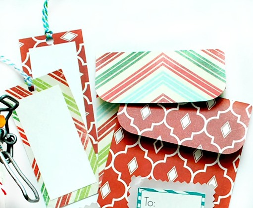 Gift Card Holders and Gift Tags