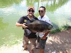 Davi e Markinhos com Tambacu de 13 kilos