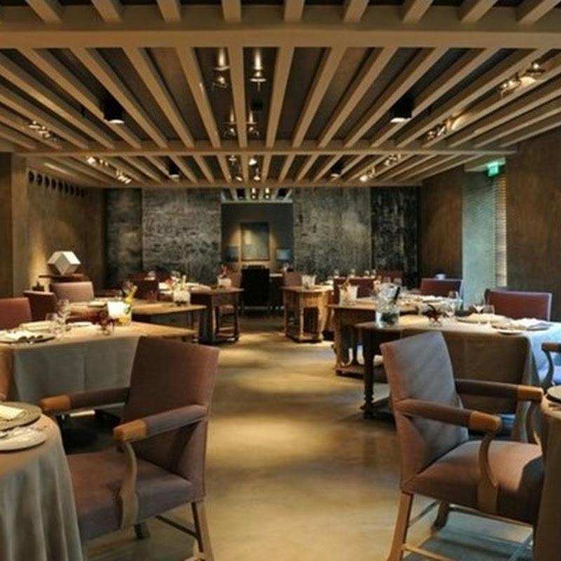 Restaurant interiors by Axel Vervoordt