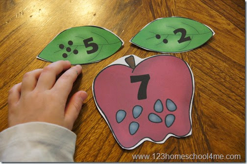 fun way for kids to practice adding numbers from 1-10