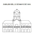 DIBUJO DEL CABILDO DE 1810